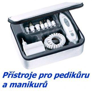 Přístroje pro manikůru a pedikůru