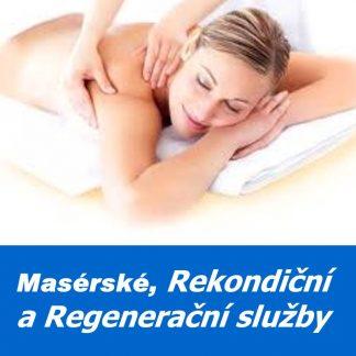 Masérské, rekondiční a regenerační služby