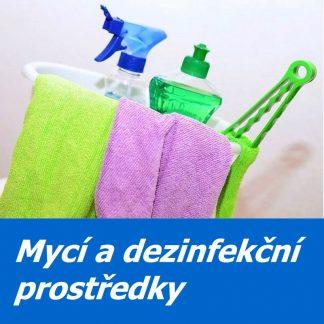 Mycí a dezinfekční přípravky